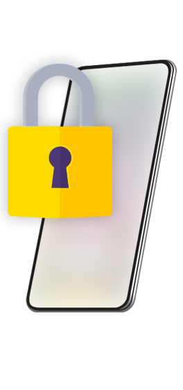 Security lock for safety and privacy in the WellQuest game